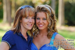 Prom Hair and other specialty services in Clayton NC