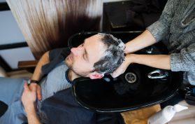 hair cut and wash