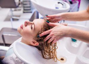 hair washing before haircut